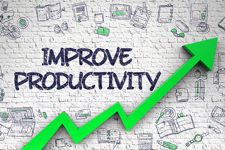 Here Are 6 Ways to Increase Productivity at Work